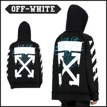 Off-White 20SS DRIPPING ARROWS INCOMPLETE HOODIE パーカー