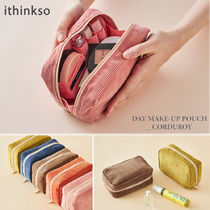 ithinkso(アイシンクソー) メイクポーチ ★ithinkso★ DAY MAKE-UP POUCH CORDUROY コーデュロイ