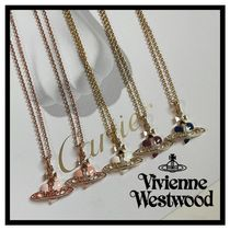vivienne ディアマンテハートネックレス