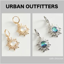 【Urban Outfitters】コスミック 太陽チャーム フープピアス