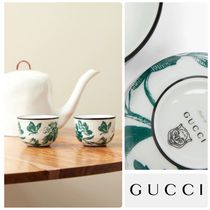 GUCCI Set of two Herbarium porcelain ティーカップ 2点セット