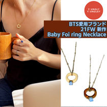 yOungly yOungley(ヨンリヨンリ) ネックレス・ペンダント BTS愛用ブランド★21FW新作★Baby Foi ring Necklace ネックレス