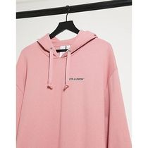 ASOS♡送料込 COLLUSION Unisex oversized hoodie with lo