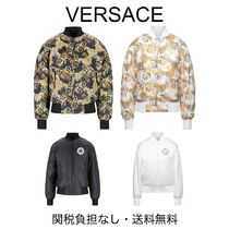VERSACE JEANS COUTURE◆ロゴ バロック リバーシブル ジャケット