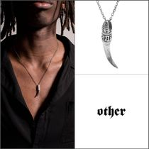 Other UK(アザーユーケー) ネックレス・チョーカー 【Other UK】スターリングシルバー925 TOOTH ネックレス