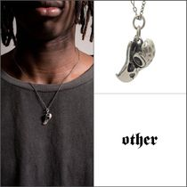 Other UK(アザーユーケー) ネックレス・チョーカー 【Other UK】スターリングシルバー925 EAGLE SKULL ネックレス