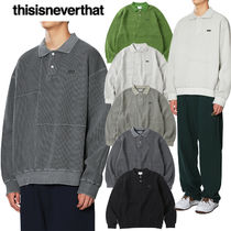 ★thisisneverthat★送料込み★正規品★韓国★人気 Waffle Polo