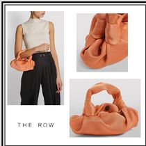 【The Row】アスコット Ascot Two シルク バック★アプリコット