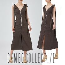 【CAMEO COLLECTIVE】RESERVATION MIDI DRESS☆可愛いワンピース