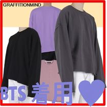 GRAFFITIONMIND(グラフィティオンマインド) Tシャツ・カットソー ★BTS着用★【GRAFFITIONMIND】★Incision Long Sleeve Te.e★
