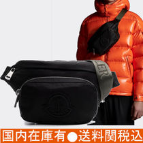 *MONCLER DURANCE*モンクレール ロゴ ナイロンショルダーバッグ
