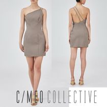 【CAMEO COLLECTIVE】ALMOST MINI DRESS TAUPE ☆セクシーワンピ