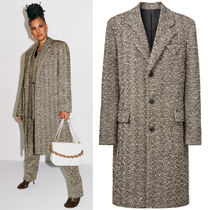 BV170 LOOK5 TEXTURED KNOTTED YARN COAT