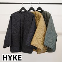HYKE(ハイク)◇21AW新作 3カラー☆QUILTED BIG LINER JACKET