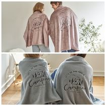 【DECO VIEW】Emotional camping embroidered blanket