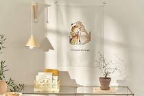 【DECO VIEW】hug friends fabric poster