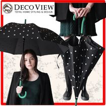 DECO VIEW(デコヴュー) 傘・レイングッズ ☆人気☆【DECO VIEW】☆green point do.t 傘☆レイングッズ☆