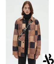 ANDERSSON BELL(アンダースンベル) シャツ AnderssonBell  LEATHER PATCHWORK PRINT SHIRT