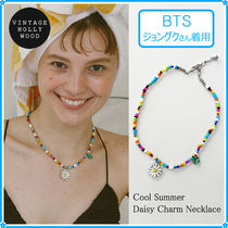 VINTAGE HOLLYWOOD(ヴィンテージハリウッド) ネックレス・チョーカー 【VH】Cool Summer Daisy Charm Necklace〜BTS ジョングク着用