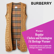 BURBERRY直営店 Chelsea and Kensington Fit Heritage Warmer
