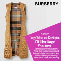 BURBERRY直営店LongChelsea and Kensington Fit Heritage Warmer