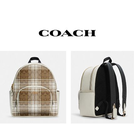 Court Backpack Hunting Fishing Plaid Print バックパック