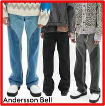 ANDERSSON BELL(アンダースンベル) デニム・ジーパン ★【ANDERSSON BELL】★LUCAS CONTRAST PANEL WIDE-LEG JEAN.S★