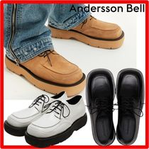 ANDERSSON BELL(アンダースンベル) 靴・ブーツ・サンダルその他 ★人気★【ANDERSSON BELL】★SQUARE MATINE DERBY SHOE.S★