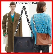 ANDERSSON BELL(アンダースンベル) ショルダーバッグ ★人気★【ANDERSSON BELL】★KOONDAL EYELET PATCH ROPE BA.G★