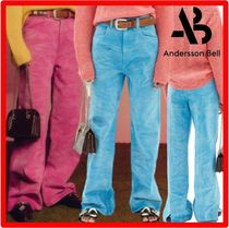 ANDERSSON BELL(アンダースンベル) パンツ ☆人気☆【ANDERSSON BELL】☆TIPPY WAVE WRINKLE COLOR JEAN.S
