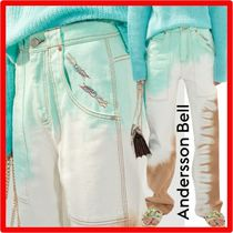 ANDERSSON BELL(アンダースンベル) パンツ ☆人気☆【ANDERSSON BELL】☆ASPYN TWO TONE TIE-DYING JEA.N☆