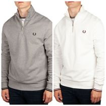 【FRED PERRY】ハーフジップスウェット《国内発送/関税送料込》