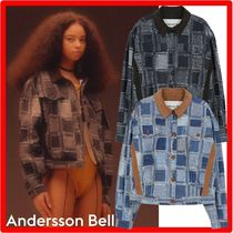 ANDERSSON BELL(アンダースンベル) アウターその他 ☆【ANDERSSON BELL】☆PATCHWORK DENIM PRINT TRUCKER JACKE.T