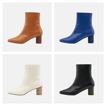 mutemuse 本革アンクルブーツ CHESS Ankle Boots(4色)
