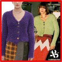 ANDERSSON BELL(アンダースンベル) カーディガン ☆人気☆【ANDERSSON BELL】☆ZELDA WOOL FEATHER CARDIGA.N☆