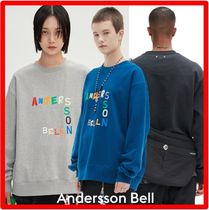 ANDERSSON BELL(アンダースンベル) スウェット・トレーナー ☆【ANDERSSON BELL】☆ANDERSSON BELL EMBROIDERY SWEATSHIR.T