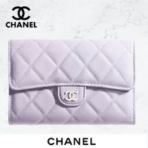 《21AW★》CHANEL  WALLET フラップ  ウォレット