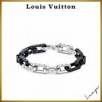 【Louis Vuitton】 ダミエ チェーン ブレスレット