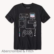 Abercrombie & Fitch(アバクロ) キッズ用トップス 大人もOK★Abercrombie&Fitch★プレステプリント Tシャツ