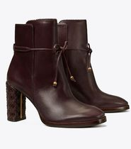 Tory Burch  BASKET-WEAVE ANKLE BOOT