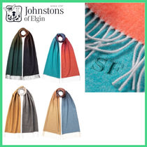 【Johnstons】20/21AW OVERSIZED OMBRE CASHMERE スカーフ 4色