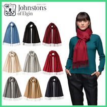 【Johnstons】21/22AW OVERSIZED CLASSIC CASHMERE スカーフ 9色
