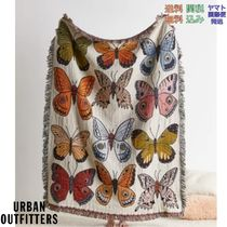 Urban Outfitters Butterfly バタフライ柄 ブランケット スロー