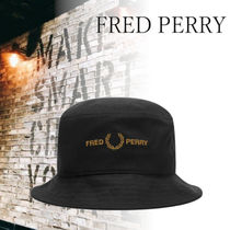 FRED PERRY(フレッドペリー) ハット 【関税送料込み】FRED PERRY Authentic Logo Bucket Hat