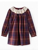 AW21 BONPOINT☆ワンピースTAMIKOチェック4.6.8A