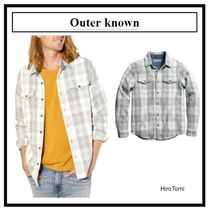 Outer known(アウターノウン) シャツ 着心地抜群◆Outer known◆BLANKET シャツ Half Light Little