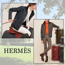 HERMES パリ本店 メンズフリース Polaire Warm-Up
