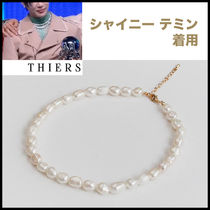★THIERS.シャイニーテミン着用★ 淡水パールネックレス