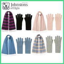 【Johnstons】21/22AW WOMEN'S CASHMERE ギフトセット 4色