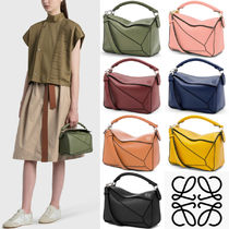 LW039 SMALL PUZZLE BAG IN CLASSIC CALFSKIN